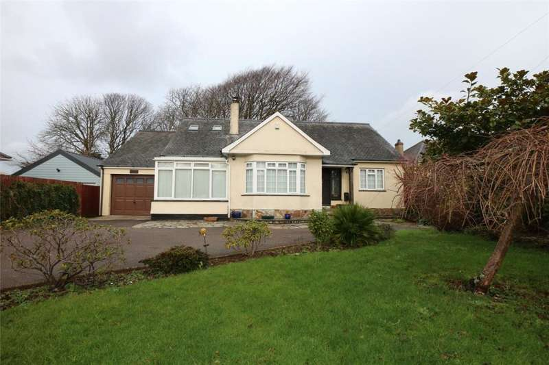 4 Bedrooms Detached Bungalow for sale in Pendarves Road, Camborne, Cornwall