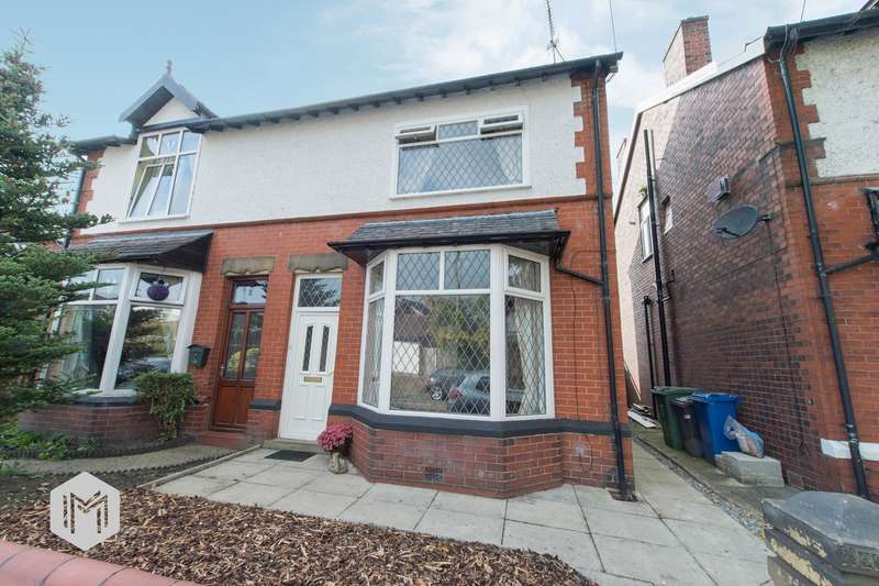 3 Bedrooms Semi Detached House for sale in Solness Street, Bury, BL9