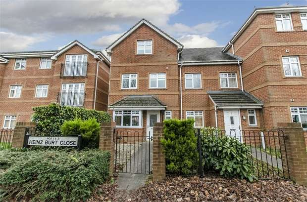 4 Bedrooms Town House for sale in Heinz Burt Close, Eastleigh, Hampshire