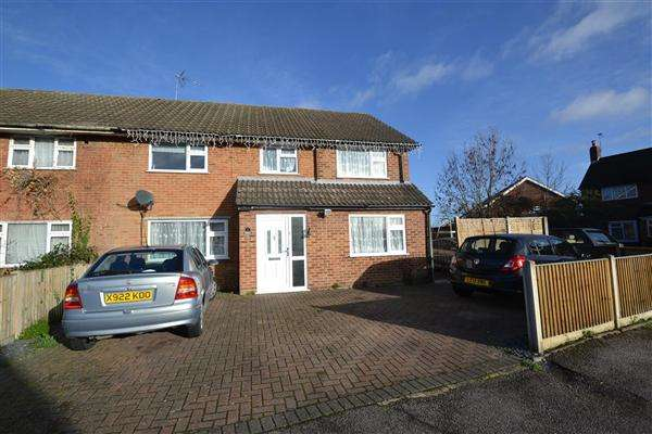 4 Bedrooms Semi Detached House for sale in Britannia Way, Stanwell