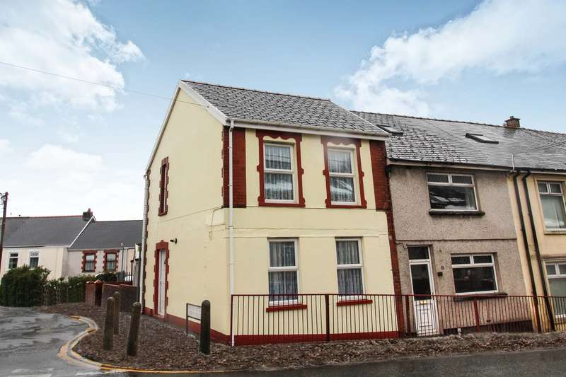 2 Bedrooms End Of Terrace House for sale in Beaufort Rise, Beaufort, EBBW VALE, NP23