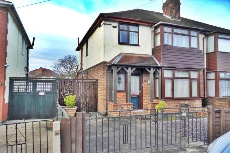 3 Bedrooms Semi Detached House for sale in Brackens Avenue, Alvaston