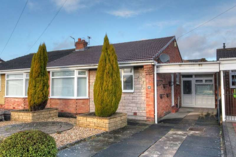 2 Bedrooms Semi Detached Bungalow for sale in Dawlish Place, Newcastle Upon Tyne, NE5