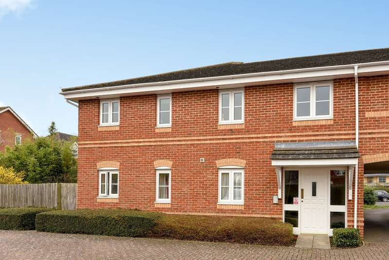 2 Bedrooms Apartment Flat for sale in Broadmere Road, Beggarwood, Basingstoke, RG22
