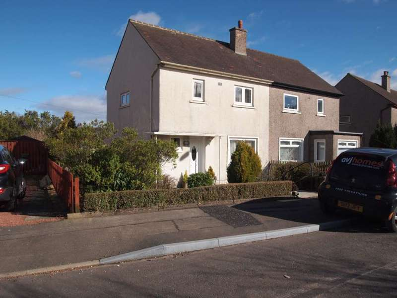 2 Bedrooms Semi Detached House for rent in St Vigeans Avenue, Newton Mearns