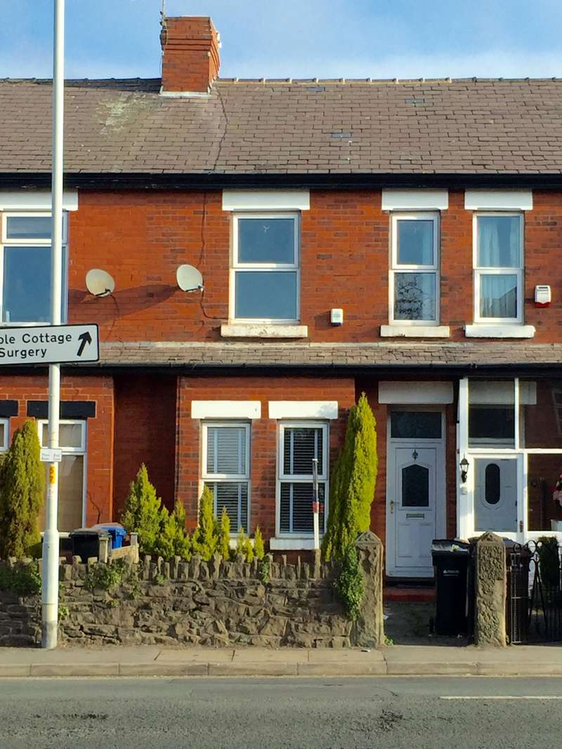 3 Bedrooms Terraced House for rent in Stockport Road, Stockport, SK6