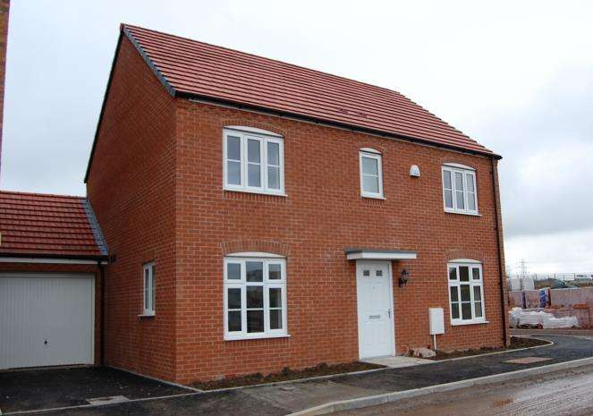 4 Bedrooms Detached House for rent in Lysaght Way, Newport