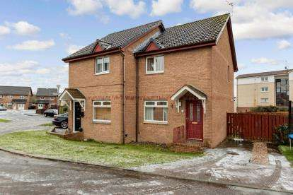 2 Bedrooms Semi Detached House for sale in Paton Court, Wishaw