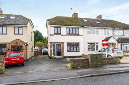 3 Bedrooms End Of Terrace House for sale in Pilgrims Hatch, Brentwood, Essex