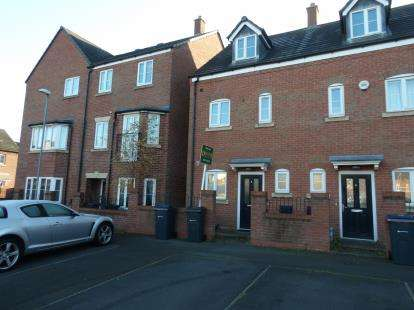 3 Bedrooms Terraced House for sale in Brewers Square, Edgbaston, Birmingham, West Midlands