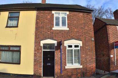 2 Bedrooms Semi Detached House for sale in Upper St. John Street, Lichfield, Staffordshire