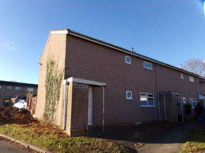 3 Bedrooms End Of Terrace House for sale in Felton Close, Redditch, Worcestershire