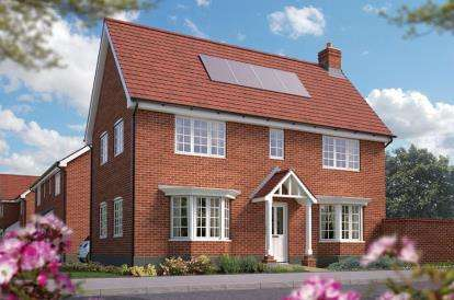 3 Bedrooms Detached House for sale in Off Silfield Road, Wymondham, Norfolk