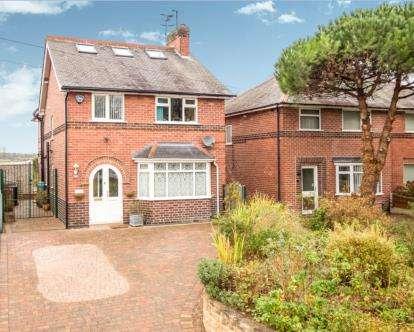 4 Bedrooms Detached House for sale in Papplewick Lane, Hucknall, Nottingham, Nottinghamshire