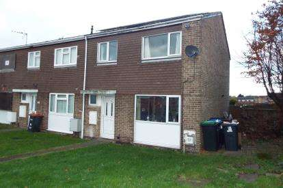 3 Bedrooms End Of Terrace House for sale in Poplar Avenue, Kirkby In Ashfield, Nottingham, Nottinghamshire