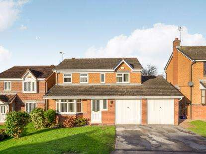 4 Bedrooms Detached House for sale in Kensington Close, Mansfield Woodhouse, Mansfield, Nottinghamshire