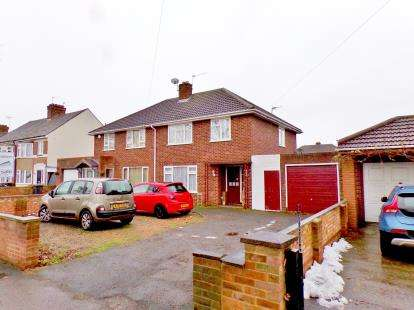 3 Bedrooms Semi Detached House for sale in Mile Road, Bedford, Bedfordsire