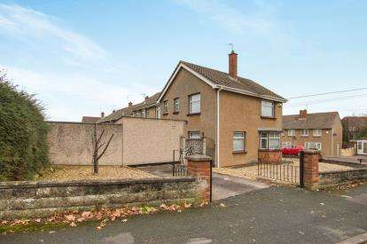 3 Bedrooms End Of Terrace House for sale in Beaufort Road, Downend, Bristol