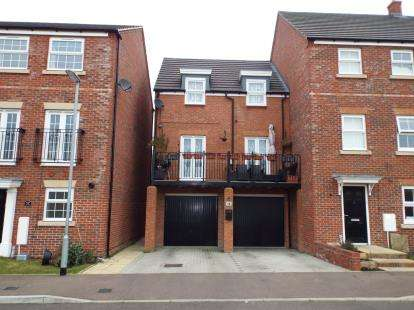 3 Bedrooms End Of Terrace House for sale in Limestone Grove, Houghton Regis, Dunstable, Bedfordshire