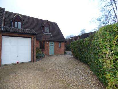 3 Bedrooms Detached House for sale in Caesars Close, Bancroft, Milton Keynes, Buckinghamshire