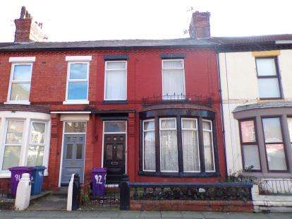 4 Bedrooms Terraced House for sale in Arundel Avenue, Aigburth, Liverpool, Merseyside, L17