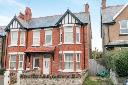 4 Bedrooms Semi Detached House for sale in Wynnstay Road, Old Colwyn, Conwy, LL29