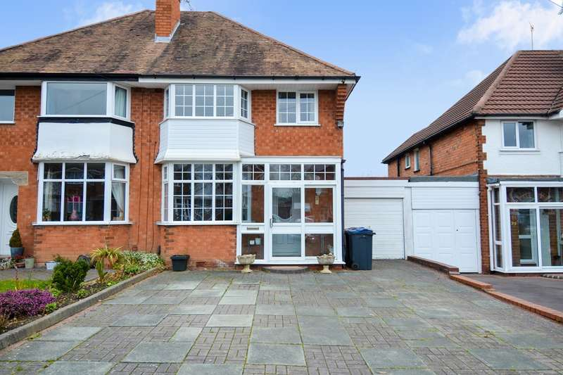 3 Bedrooms Semi Detached House for sale in Farlow Road, Northfield, Birmingham, B31