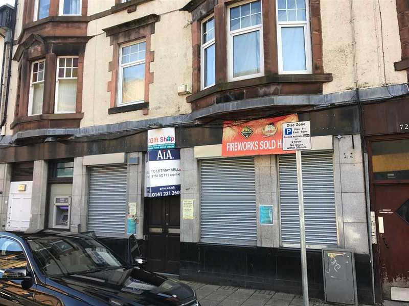 Shop Commercial for rent in West Blackhall Street, Greenock