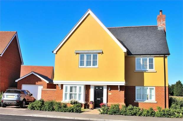 4 Bedrooms Detached House for sale in Sampford Road, Thaxted, Dunmow, Essex