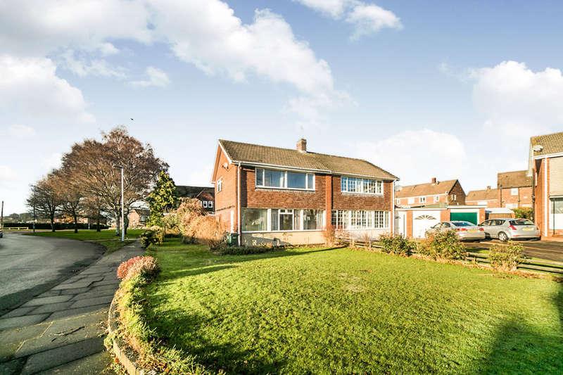 3 Bedrooms Semi Detached House for sale in Grange Crescent, Ryton, NE40