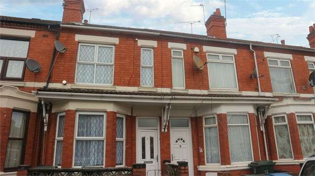 4 Bedrooms Terraced House for sale in St Lawrences Road, Coventry, West Midlands