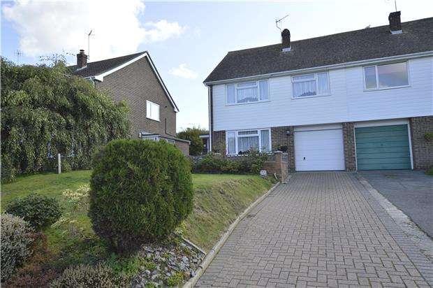 4 Bedrooms Semi Detached House for sale in Austen Way, HASTINGS, East Sussex, TN35 4JH