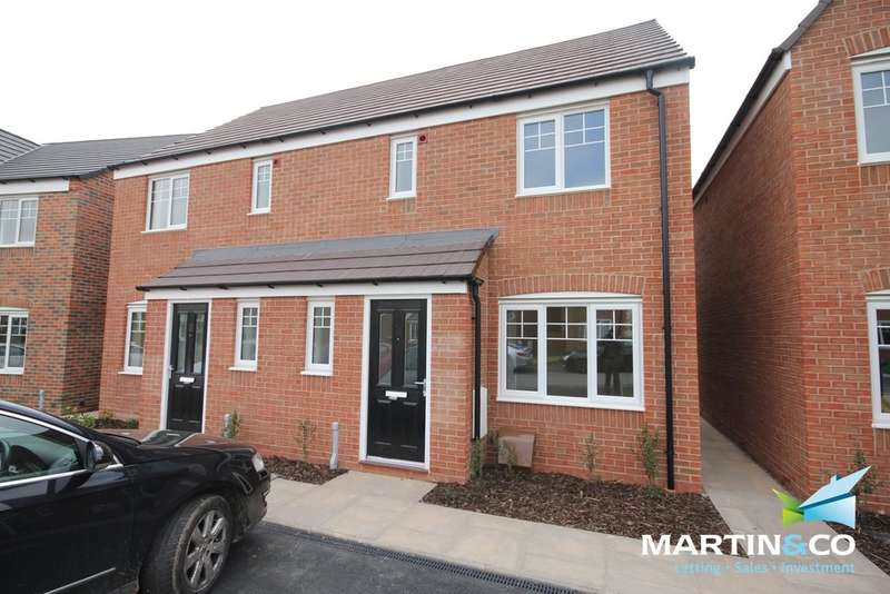 3 Bedrooms Semi Detached House for rent in Martineau Gardens, Martineau Drive, off Balden Rd, Harborne