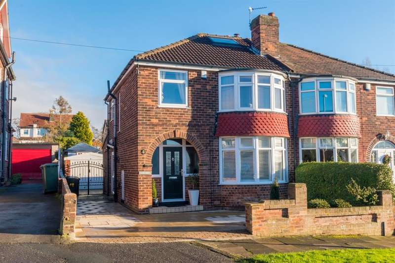 3 Bedrooms Semi Detached House for sale in Spennithorne Avenue, West Park, LS16