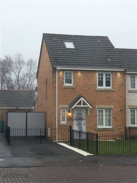 3 Bedrooms Semi Detached House for sale in Sherwood Road, North Lanarkshire
