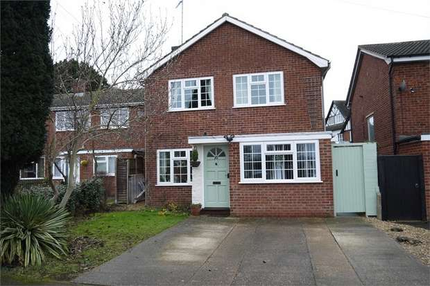 3 Bedrooms Detached House for sale in Harrod Drive, Market Harborough, Leicestershire