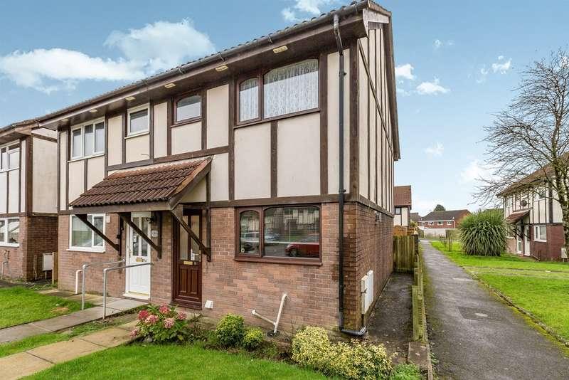 2 Bedrooms End Of Terrace House for sale in Lavender Court, Brackla, Bridgend
