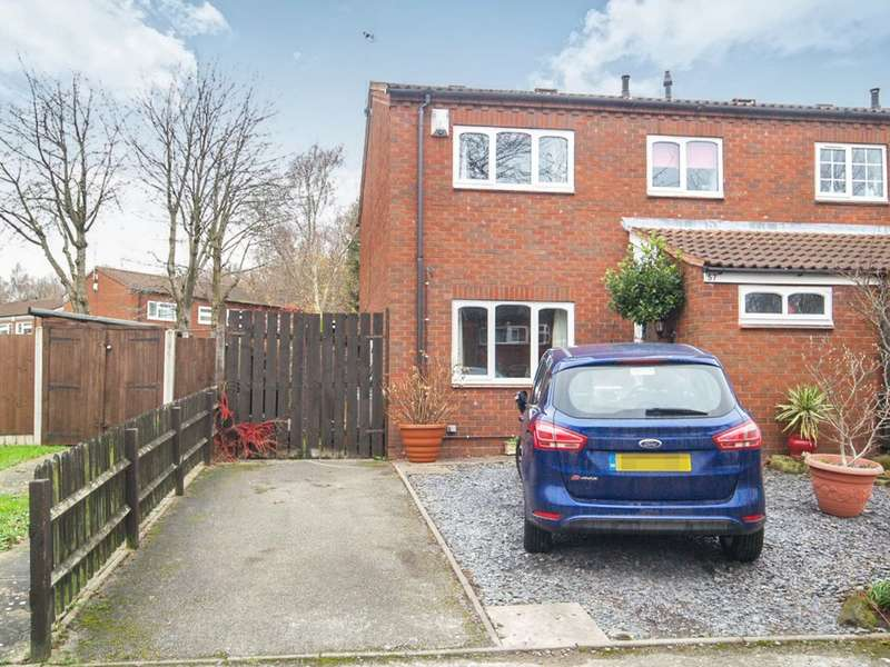 3 Bedrooms Semi Detached House for sale in Churchward Close, Stourbridge