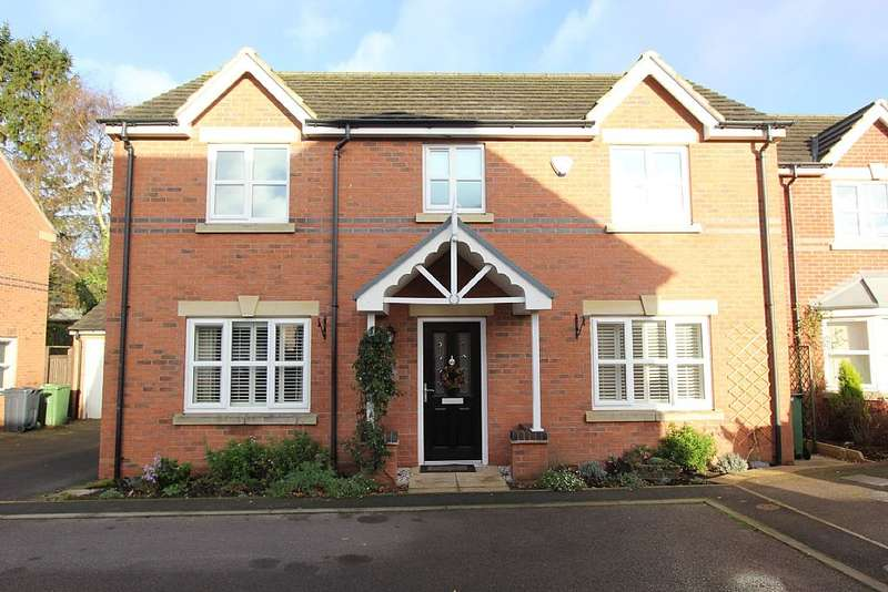 4 Bedrooms Detached House for sale in Watchorn Lawns, Alfreton, Derbyshire, DE55 7TL