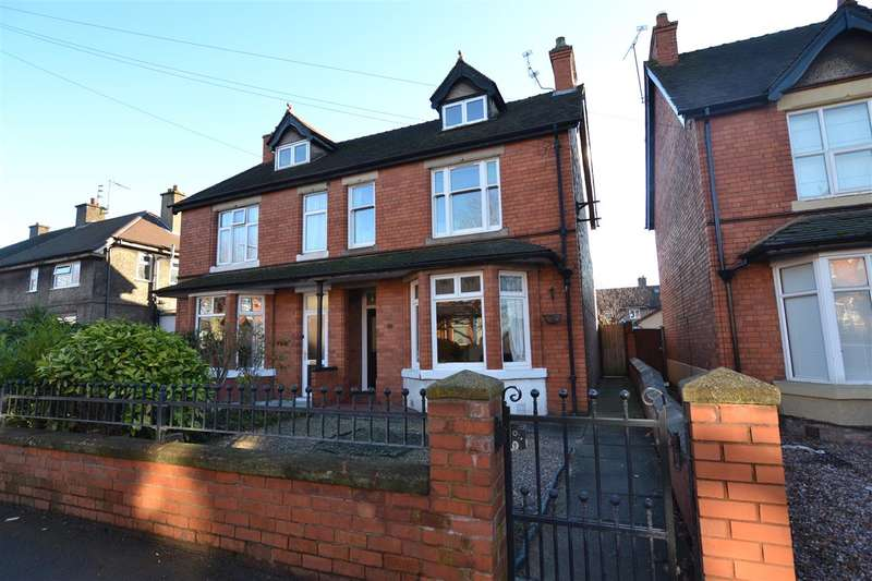 4 Bedrooms Semi Detached House for sale in Weston Road, Stafford