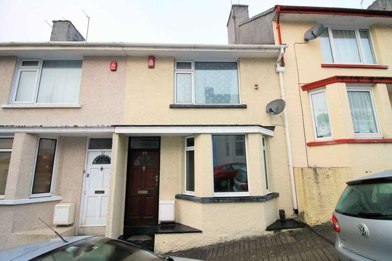 2 Bedrooms Terraced House for sale in Beatrice Avenue, Keyham, Plymouth, PL2 1NU