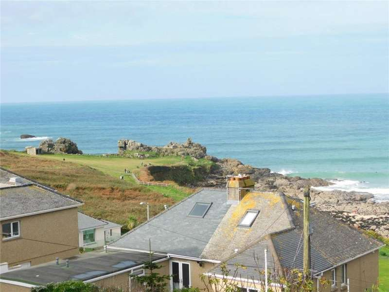 2 Bedrooms Semi Detached Bungalow for sale in Westward Road, St Ives, Cornwall