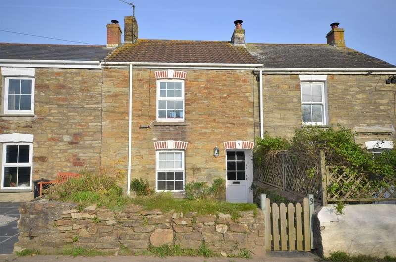 2 Bedrooms Terraced House for sale in Goonbell, St Agnes, Cornwall