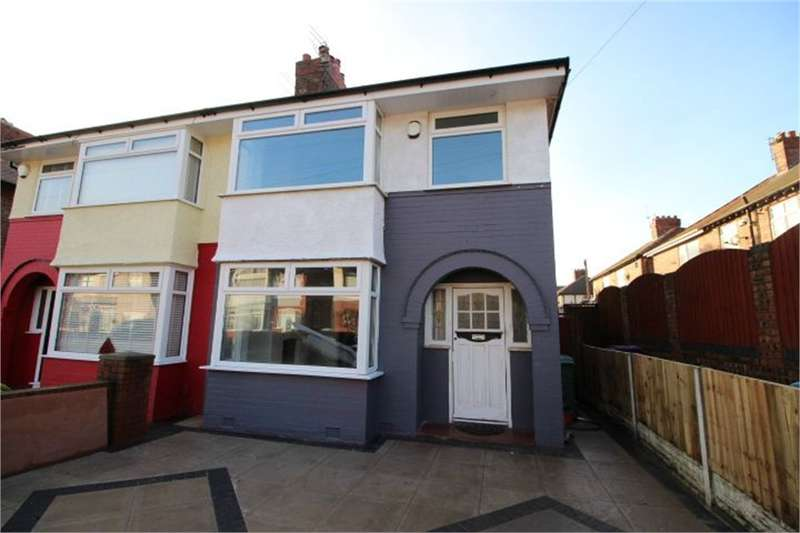 3 Bedrooms Semi Detached House for sale in Halby Road, Walton, LIVERPOOL, Merseyside