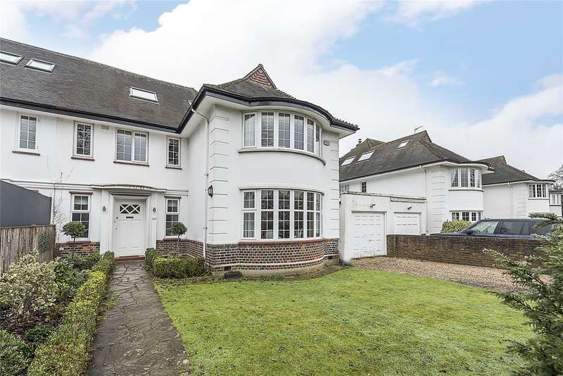 5 Bedrooms Semi Detached House for sale in Sheen Lane, London, SW14