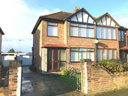 3 Bedrooms Semi Detached House for sale in Bruce Avenue, Orford, Warrington, Cheshire