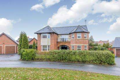 5 Bedrooms Detached House for sale in Springwater Drive, Weston, Crewe, Cheshire