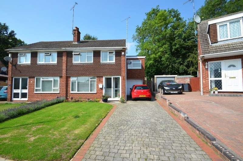 4 Bedrooms Semi Detached House for sale in Pantolf Place, Rugby, Warwickshire