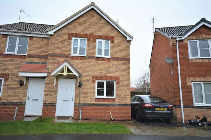 3 Bedrooms Semi Detached House for sale in Oakley Manor, West Auckland, Bishop Auckland, DL14 9AQ