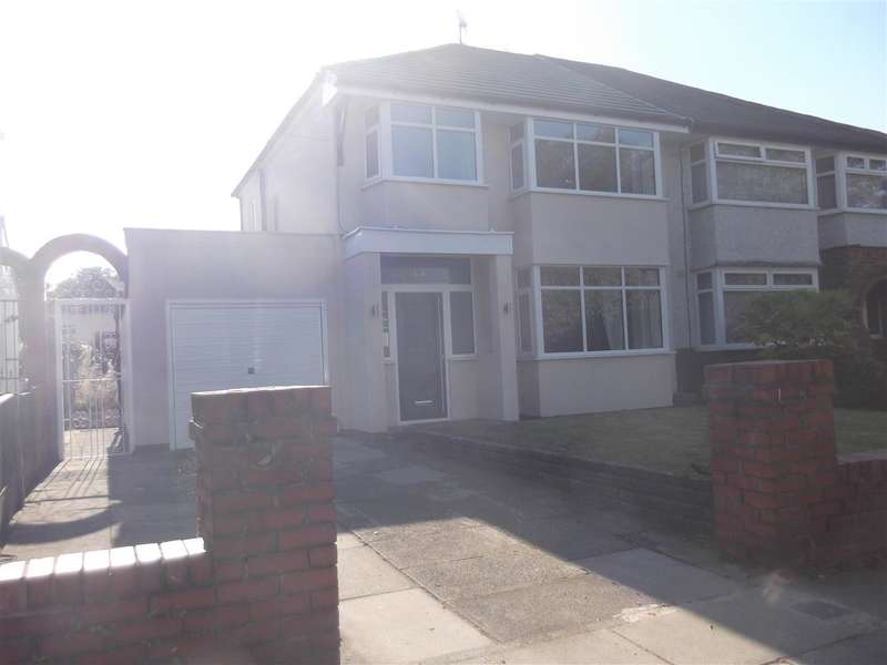 3 Bedrooms Semi Detached House for rent in Tarbock Road, Huyton, Liverpool